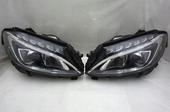 Mercedes W205 комплект фар одна линза